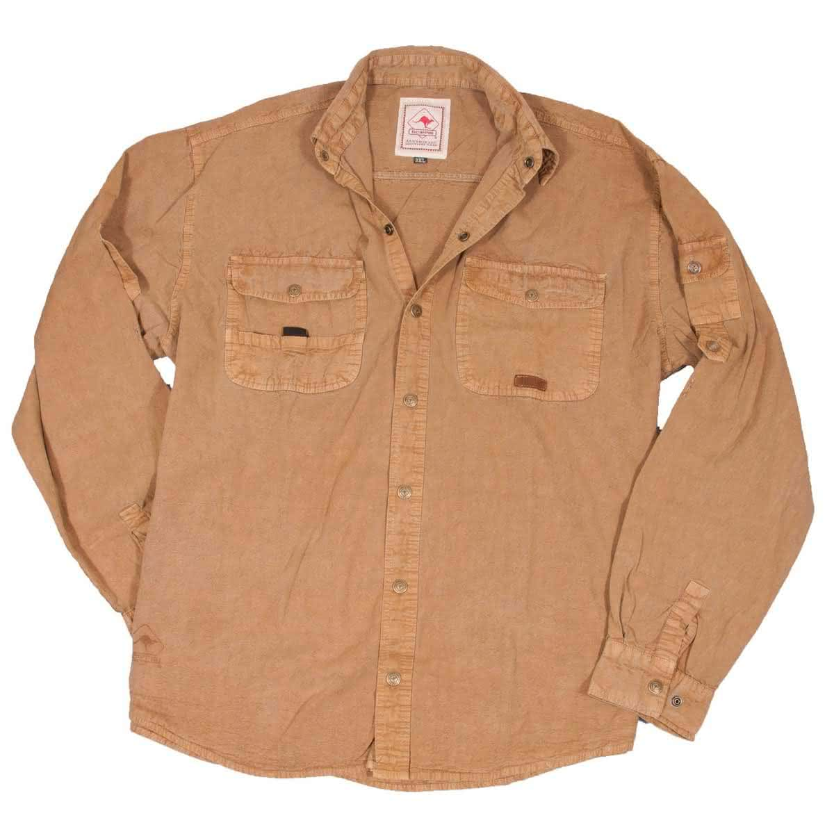 Scippis Cowra Shirt-tobacco-M