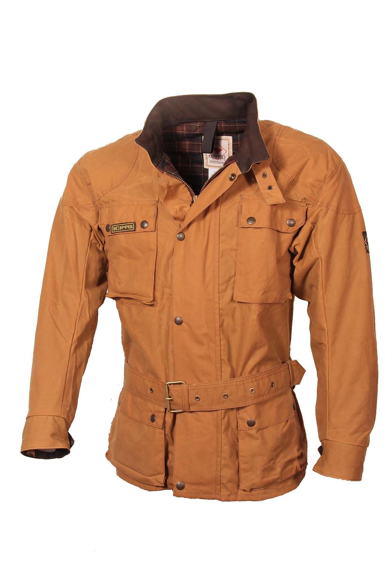 Scippis Belmore Jacket - 2J16 - Tan-M