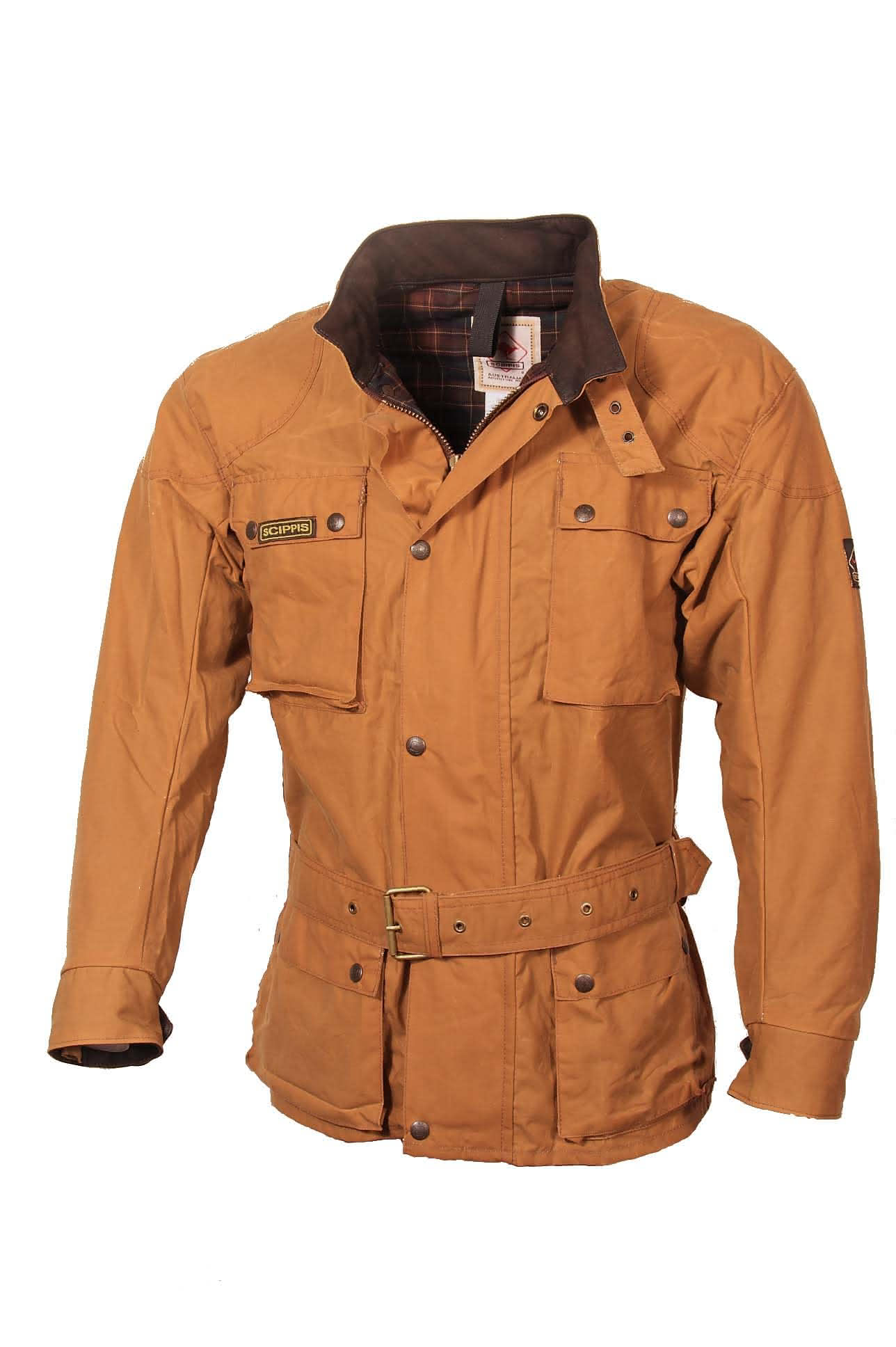 Scippis Belmore Jacket - 2J16 - Tan-L