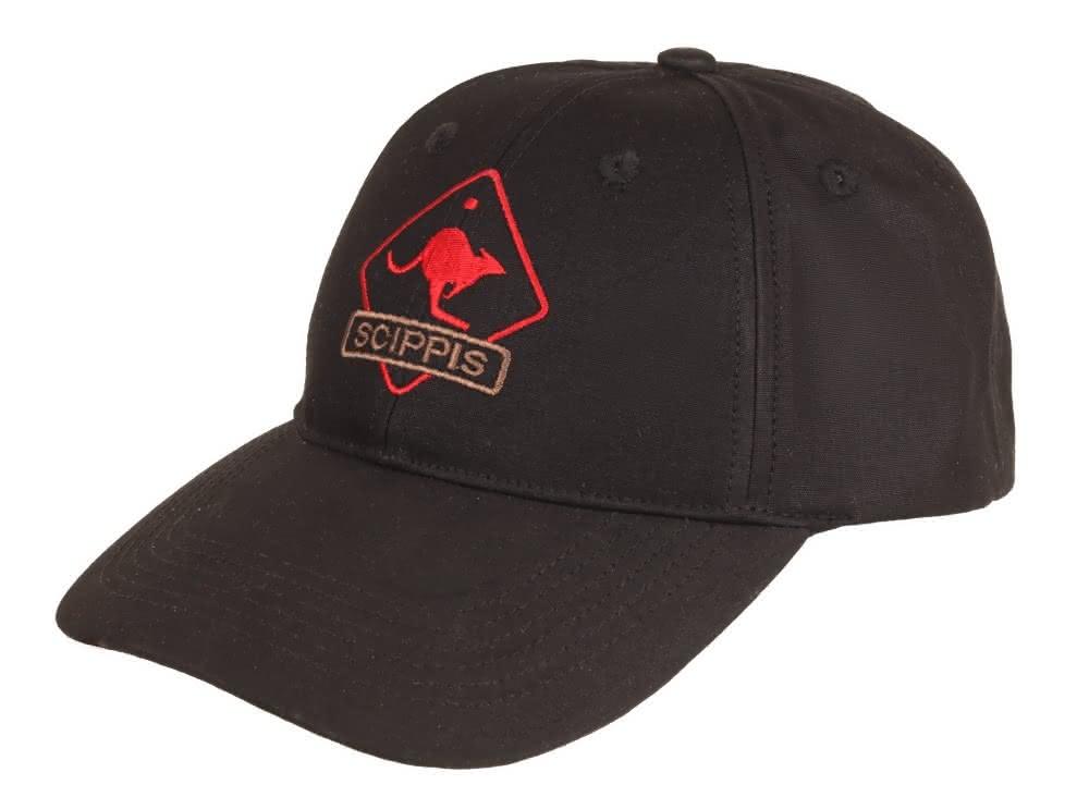 Scippis Oilskin Cap - schwarz