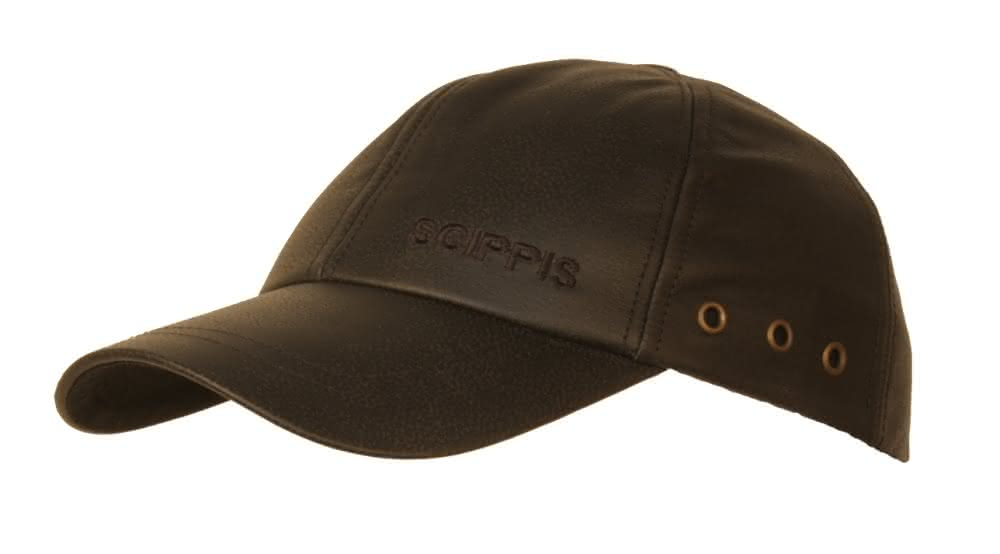 Scippis Leder Cap - braun