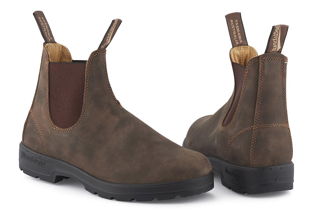 Blundstone 585 rustic brown